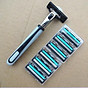 New Double Edge Safety Razor Shaver Safe Alloy Excellent Simple Stainless thumbnail