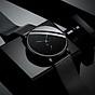Đồng hồ nam mẫu Kim Xanh Mới mặt mỏng , dây kim loại thumbnail