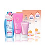 Bộ sản phẩm Senka trắng hồng chuẩn Nhật (SRM Collagen 120g, CN Serum CC 40g, All Clear Water 230ml, Mask 25ml) thumbnail