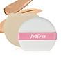 Bông phấn nước Mira quai hồng bịch 1 miếng tặng kèm móc khóa 2