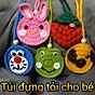 Túi đựng tỏi handmade cho bé thumbnail