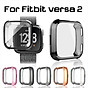 Ultra-Slim Electroplate Transparent TPU Soft Case Cover for Fitbit Versa 2 Smart Watch Accessories Protective Shell thumbnail