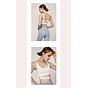 Áo Bra thể thao nữ, áo tập Gym Yoga mềm mịn, có đệm, kiểu áo lót mỏng mã WX-042 4