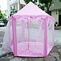 Lều Công Chúa Cho Bé - Lều Cho Bé Hình Lục Giác Phong Cách Hàn Quốc - Hàng chính hãng thumbnail