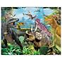 Tranh ghép gỗ 100 mảnh - Công viên khủng long - Jurassic Park thumbnail