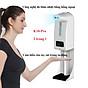 Máy đo thân nhiệt K10 pro tích hợp rửa tay tự động phun sương nhả gel mới nhất 2021 - 15 ngôn ngữ thumbnail