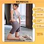 Quần Tập Gym Nữ 2021 Quần Ngắn Gen Bụng Nâng Mông Co Giãn Thấm Hút Mồ Hôi ÔM Body MT5FK thumbnail