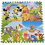 Bộ 4 tấm Thảm xốp lót sàn an toàn Thoại Tân Thành hình thú Disney (60x60cm) thumbnail