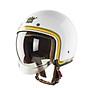 Nón bảo hiểm Royal M139 kính âm V10 trắng line vàng thumbnail