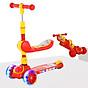 Xe trượt scooter 3 bánh cao cấp dành cho bé, phát nhạc, bánh xe phát sáng vĩnh cửu, rèn luyện vận động, tăng chiều cao cho bé, chịu lực lên tới 90kg 1