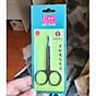 Kéo tỉa mi mũi cong Eyebrow Scissors (Xanh) 3