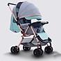Xe đẩy trẻ em 2 chiều 3 tư thế gấp gọn khi đi du lịch, khung chắc chắn có mái che 1