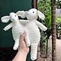 Cừu bông màu trắng ngộ nghĩnh đáng yêu cho bé. thumbnail