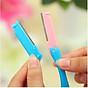 Combo 2 dao cạo tỉa lông mày tóc mái 2 lưỡi 5