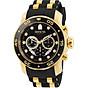 Invicta Men s 6981 Pro Diver Analog Swiss Chronograph Black Polyurethane Watch thumbnail
