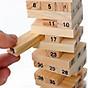 Đồ chơi trẻ em, đồ chơi thông minh, bộ đồ chơi rút gỗ 54 thanh wiss toy gỗ tự nhiên kèm xúc xắc, không độc hại phù hợp với cả trẻ em và người lớn Tặng Kèm Móc Khóa 4Tech. 4