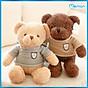 Gấu bông Teddy Head Tales cao cấp - Hàng chính hãng Memon - Đồ chơi thú nhồi bông Teddy Head Tales, Chất liệu Bông gòn PP 3D tinh khiết mềm mịn, đàn hồi đa chiều, bền đẹp, an toàn cho người sử dụng thumbnail