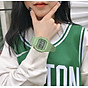Đồng hồ nữ thể thao màu xanh matcha cực đẹp chống nước 4