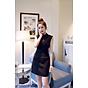 Đầm ôm body dự tiệc phối ren BY1107BY thumbnail