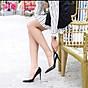 Giày cao gót nữ 9p gót nhọn da bóng dáng basic GC91 6