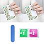 Bộ sticker dán móng tay 3D họa tiết (Kèm dũa và khăn) thumbnail