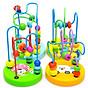 Combo 6 món đồ chơi gỗ an toàn cho bé- phát triển trí tuệ - Tă ng ke m theo bô đô chơi đâm ha i tă c cho be 7