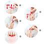 Sticker dán trang trí nghệ thuật cho móng tay (Kèm dũa và khăn) 4
