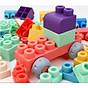 Đồ chơi Lắp ráp - Bộ Lắp ghép, xếp hình DẺO KÍCH THƯỚC SIÊU TO CHO BÉ TỪ 18m+ thumbnail