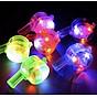 [COMBO 3 Chiếc] Còi nhựa đèn LED đẹp độc đáo - Có 3 chế đồ nhấp nháy - Màu ngẫu nhiên 2