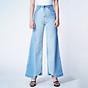 Quần Jean Ống Rộng Lưng Cao Aaa Jeans Màu Bloomer Blue thumbnail