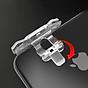 Bộ 2 Nút Chơi Game Pubg Mobile, Ros, Cf Dòng E9 Trong Suốt (Đỏ Hoặc Bạc) 3