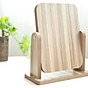 Gương trang điểm cao cấp chất liệu gỗ ép, điều chỉnh góc nhìn 360 độ loại lớn 7