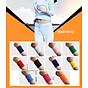 Băng cổ tay thấm mồ hôi thể thao nam nữ Boer 0230 - Băng thấm mồ hôi, cuốn cổ tay thể thao - Hàng chính hãng - Chạy bộ, đạp xe, bóng đá, bóng bàn, bóng chuyền, hoạt động ngoài trời 7
