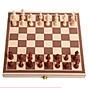 Hộp cờ vua gỗ bóng (màu nâu-kem) thumbnail