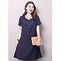 Đầm suông form rộng chữ A xẻ tà gấu LAHstore, thời trang phong cách Hàn Quốc thumbnail