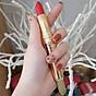 Son GOLD Matte Lipstick 2in1 Mini Garden Màu Đỏ Dâu 4
