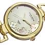 Akribos XXIV Women s Lady Diamond Watch - 14 Genuine Diamonds On a Mother-of-Pearl Dial with Chain Link Bracelet Watch - AK645 3
