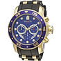 Invicta Men s 6983 Pro Diver Collection Chronograph Blue Dial Black Polyurethane Watch thumbnail