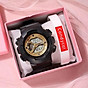 Đồng hồ điện tử thời trang nam nữ A-Sport As1 mặt tròn full chức năng sv23c - không kèm vòng tay thumbnail
