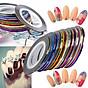 Băng keo dán móng lấp lánh 30 màu - sticker trang trí móng nail art N30 thumbnail
