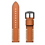 20mm Universal Smart Watch Bands Quick Release Watch Strap Leather Sport Replacement Band Strap for Samsung Gear Sport S4 Watch thumbnail