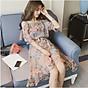 Đầm 2 dây nữ bánh bèo, đầm xòe đi biển Free size Haint Boutique Da133 3