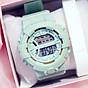 Đồng hồ điện tử nam và nữ KASAWI k562 Sports Đồng hồ Học sinh trung học cơ sở Hàn Quốc thể thao chống thấm nước- xem giờ điện tử - báo thức - bấm giờ thể thao - xem lịch ngày tháng thứ - Dây Silicone Bền Chắc 1