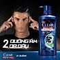 Dầu Tắm Gội Clear Men 3 Trong 1 - Active Cool Mát Lạnh (630g) 5