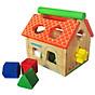 Nhà Thả 12 Khối - Đồ chơi gỗ thumbnail