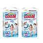 Combo 2 bịch tã quần Goo.n Premium super jumbo XL42 miếng thumbnail