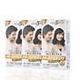 Combo 3 hộp Thuốc nhuộm tóc phủ bạc thảo dược Richenna Hi-Speedy Color Hàn Quốc màu nâu đen 60g thumbnail