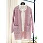Áo khoác cardigan nữ 2 túi trước Haint Boutique ak34 thumbnail