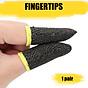 Bộ găng tay chơi game bao 10 ngón tay cao cấp chống mồ hôi chống trượt 5