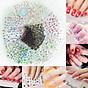Combo 10 tấm decal dán móng nghệ thuật Nail art Enjoy J350 2
